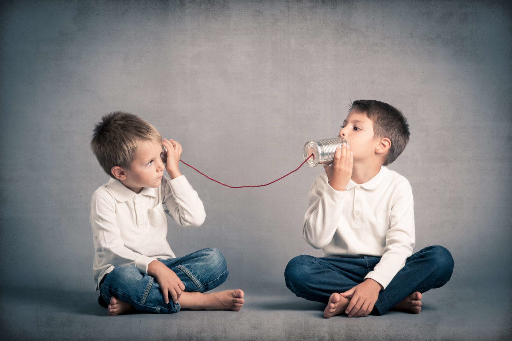 Разговор детей
