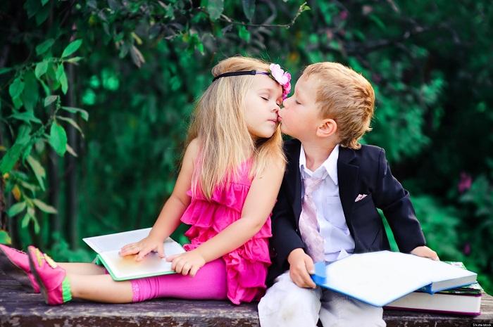 Влюбленность у детей