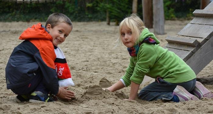 Польза игр с песком