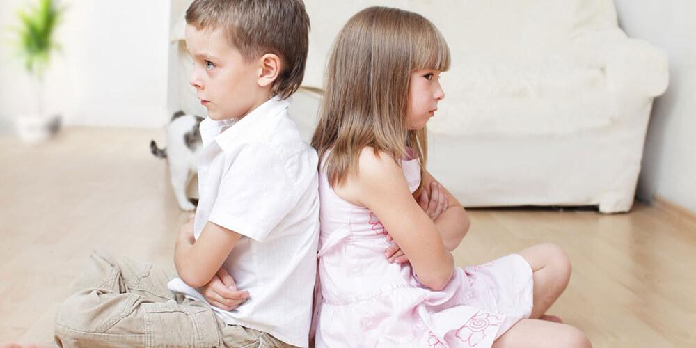 Как помирить детей на празднике, если они поссорились