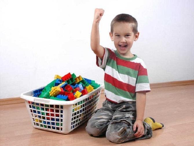 Генеральная уборка игрушек