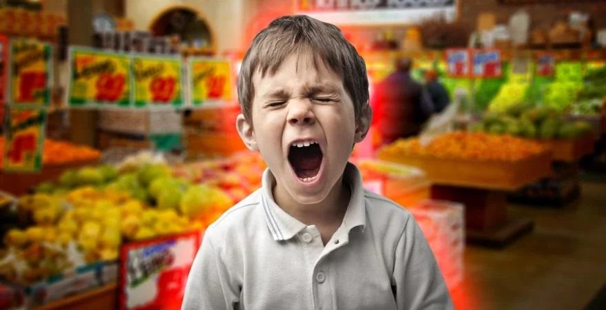 Как в магазине обойтись без истерик