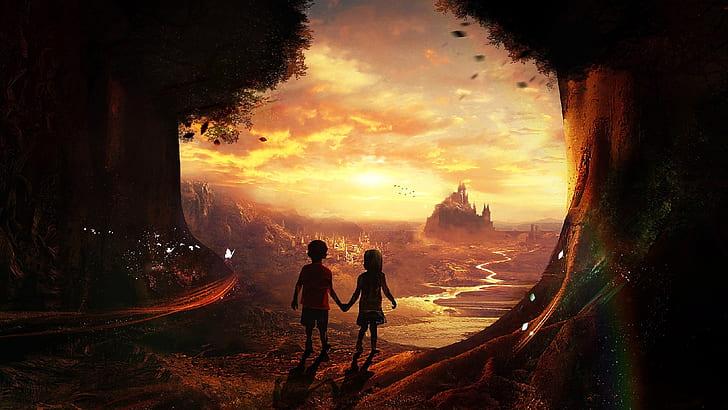 Фантазии детей в разном возрасте