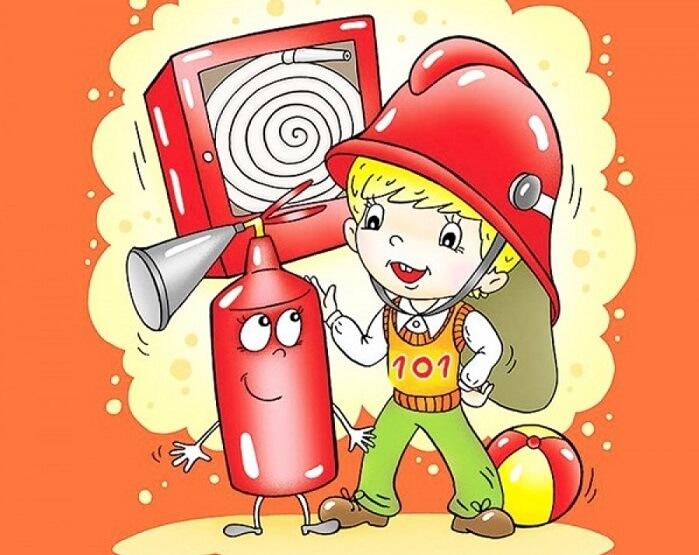 Как нужно изучать правила пожарной безопасности в детском саду
